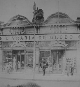 Fachada da Livraria do Globo_Porto Alegre_Década de 1920