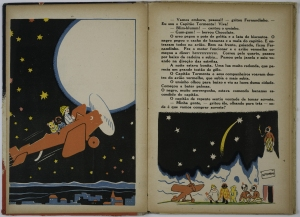 Ilustrações para As Aventuras do Avião Vermelho_João Fahrion_1936